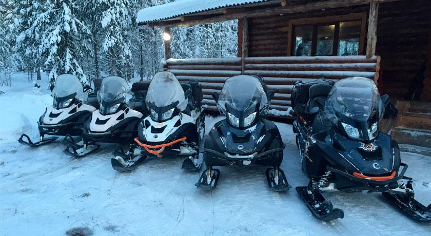 туры на снегоходах